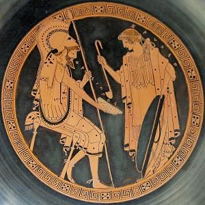 Zeuxo Chrysippos (490 BC), Louvre Museum, Paris