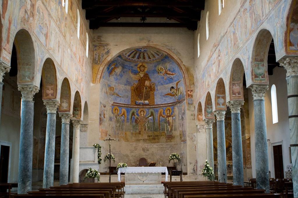 Resultado de imagen de Sant'Angelo in Formis