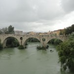 Roman bridge on the river Volturnus