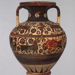 Neck amphora (620 BC), Metropolitan Museum, New York