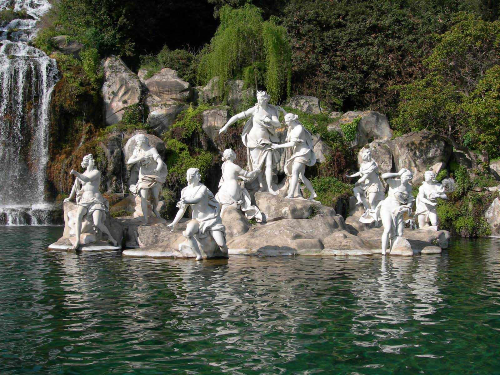 Royal palace of caserta - Reggia di caserta giardini ...