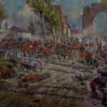 Batalla del Volturno - Pintura al fresco