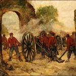 Batalla del Volturno - Cuadro
